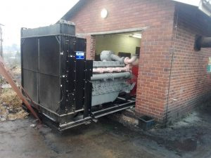 REMOVAL OF 1000 KVA FOR REPAIRS