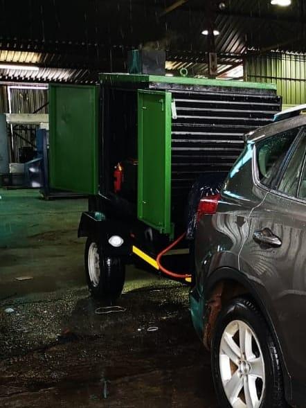 20 kva mobile generator rental