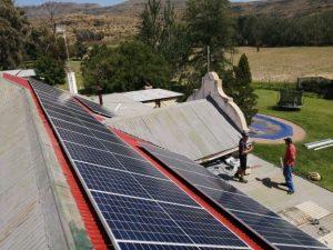 10 kW solar panel installation